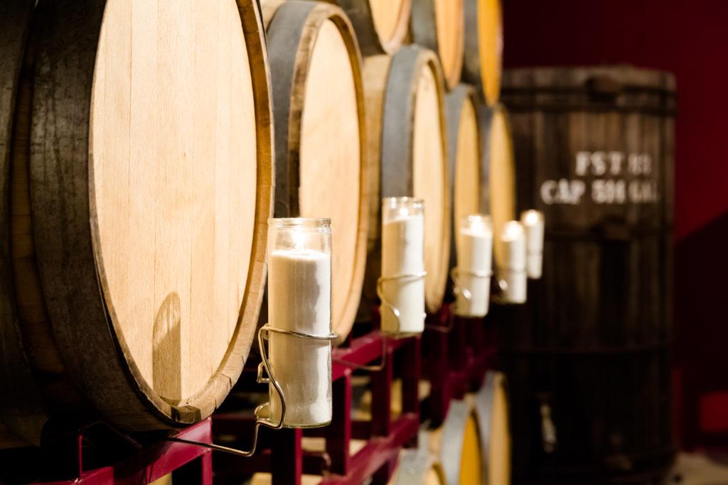 barrel room, winery wedding, small wedding venue