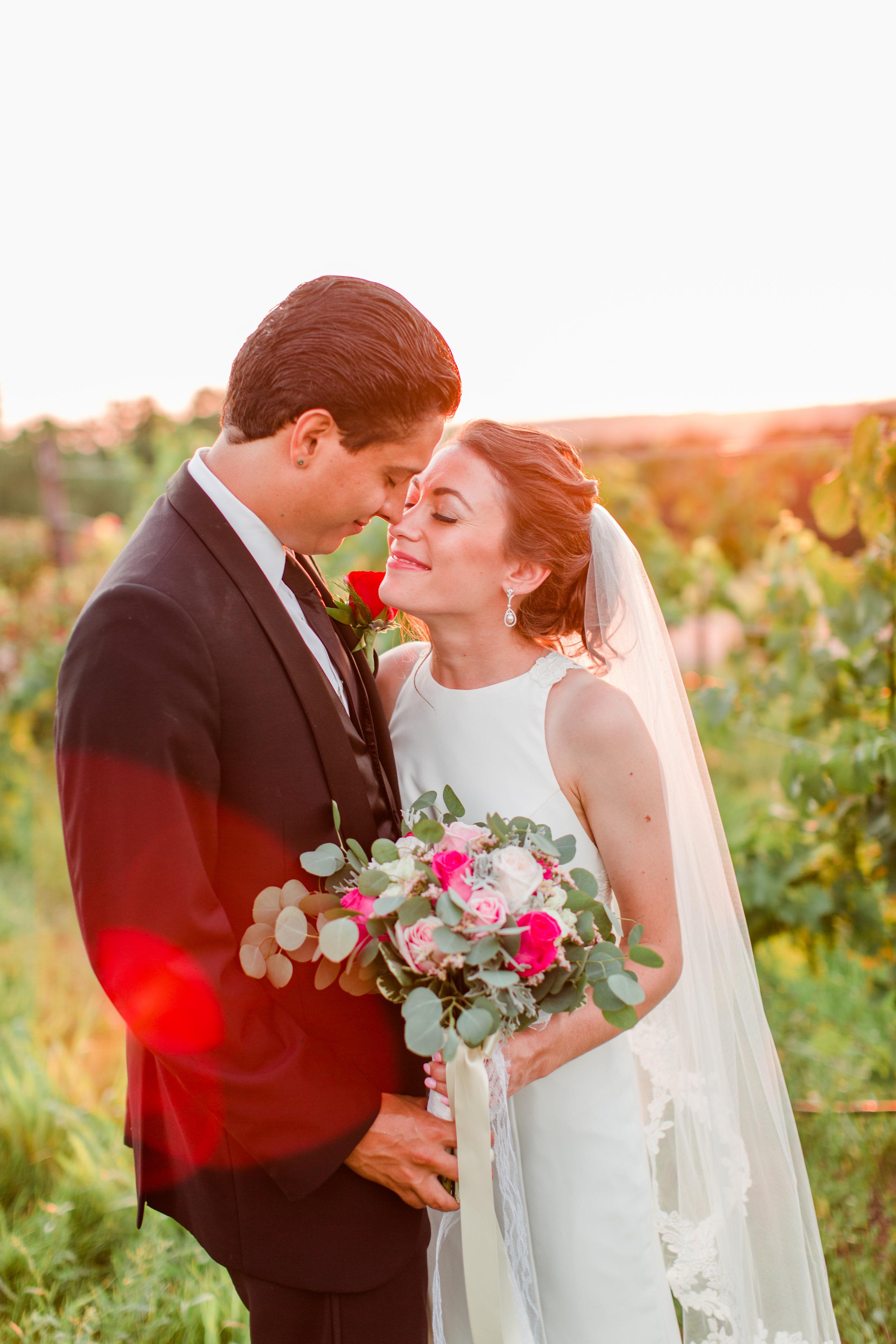 Jennifer & Renan's Winery Wedding